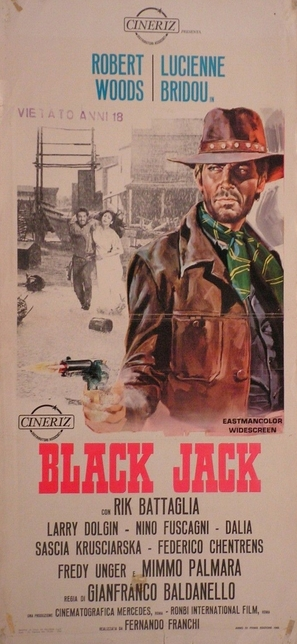 Black Jack - Italian Movie Poster (thumbnail)