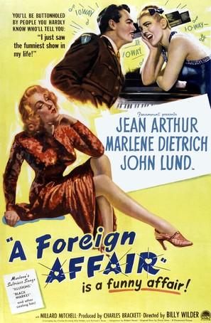 A Foreign Affair - Movie Poster (thumbnail)