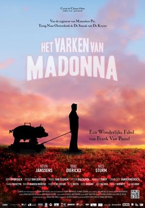 Het varken van Madonna - Belgian Movie Poster (thumbnail)