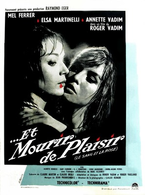 Et mourir de plaisir - French Movie Poster (thumbnail)