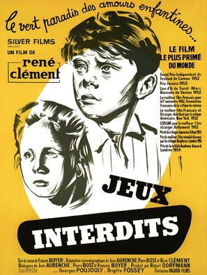 Jeux interdits - French Movie Poster (thumbnail)