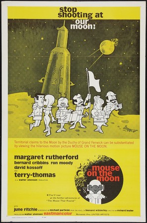The Mouse on the Moon - Movie Poster (thumbnail)
