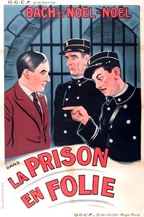 La prison en folie - French Movie Poster (thumbnail)