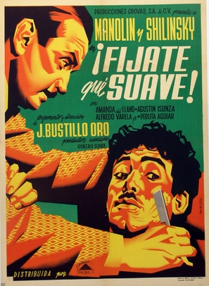 Fíjate qué suave - Mexican Movie Poster (thumbnail)