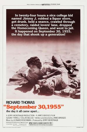 September 30, 1955 - Movie Poster (thumbnail)