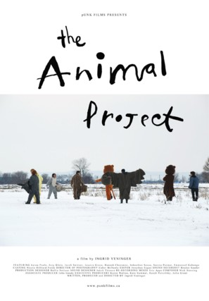 The Animal Project - Canadian Movie Poster (thumbnail)