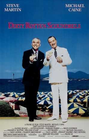 Dirty Rotten Scoundrels - Movie Poster (thumbnail)