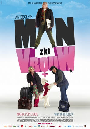 Man zkt vrouw - Belgian Movie Poster (thumbnail)
