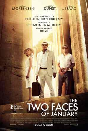 The Two Faces of January - British Movie Poster (thumbnail)