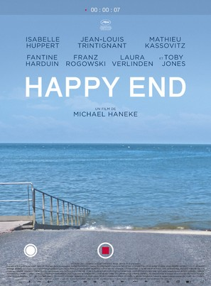 Happy End - French Movie Poster (thumbnail)