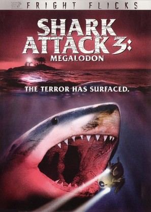 Shark Attack 3: Megalodon - DVD cover (thumbnail)