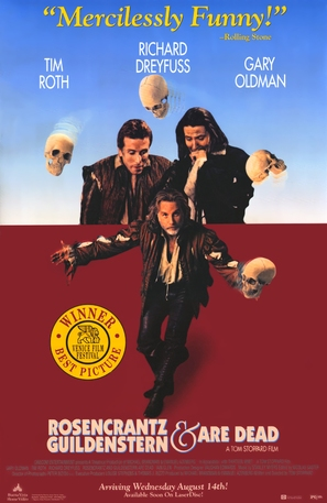 Rosencrantz & Guildenstern Are Dead - Movie Poster (thumbnail)