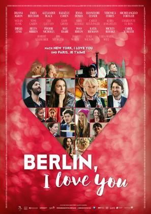 Berlin, I Love You - German Movie Poster (thumbnail)