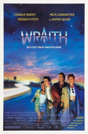 The Wraith - Theatrical poster (thumbnail)