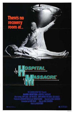 Hospital Massacre - Movie Poster (thumbnail)