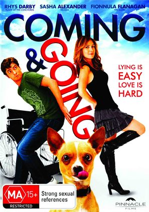 Coming & Going - Australian DVD cover (thumbnail)