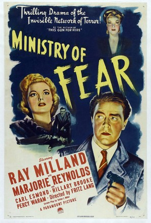 Ministry of Fear - Movie Poster (thumbnail)