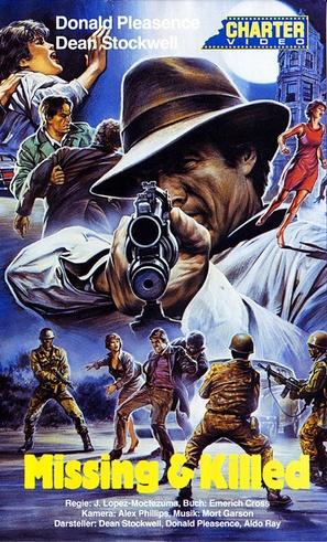 To Kill a Stranger - German VHS movie cover (thumbnail)