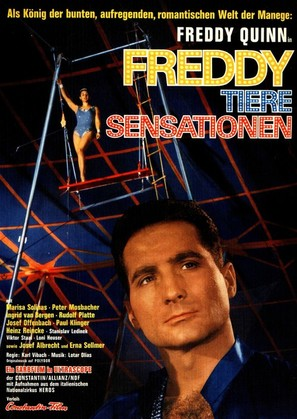 Freddy, Tiere, Sensationen - German Movie Poster (thumbnail)