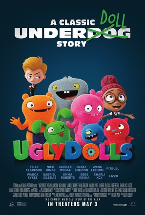 UglyDolls - Theatrical movie poster (thumbnail)