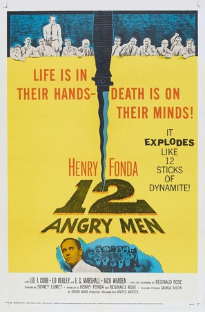 12 Angry Men - Theatrical movie poster (thumbnail)