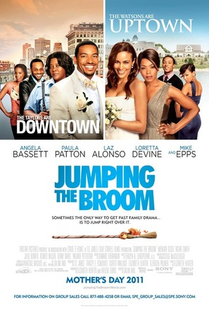 Jumping the Broom - Movie Poster (thumbnail)
