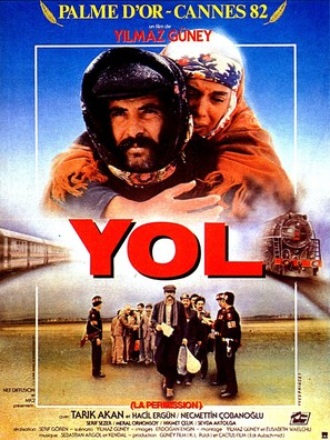 Yol - French Movie Poster (thumbnail)