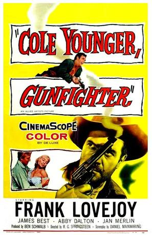 Cole Younger, Gunfighter - Movie Poster (thumbnail)