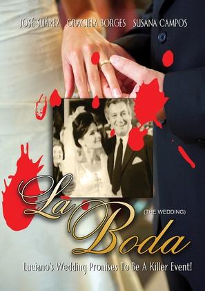 La boda - DVD movie cover (thumbnail)