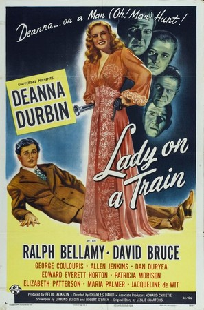 Lady on a Train - Movie Poster (thumbnail)