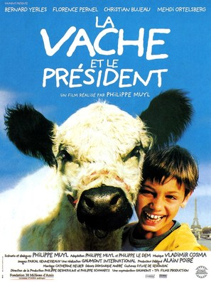 Vache et le président, La - French Movie Poster (thumbnail)