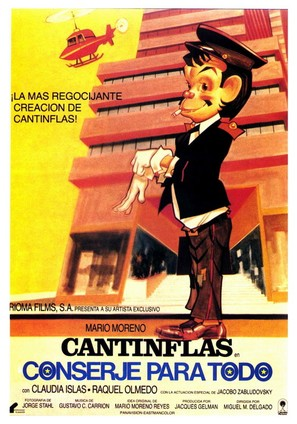 Conserje en condominio - Spanish Movie Poster (thumbnail)
