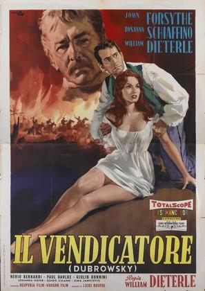 Il vendicatore - Italian Movie Poster (thumbnail)