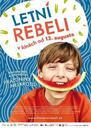Summer Rebels - Slovak Movie Poster (thumbnail)