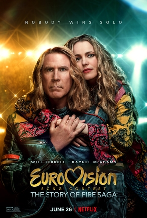 Eurovision Song Contest: The Story of Fire Saga - Movie Poster (thumbnail)