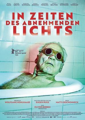 In Zeiten des abnehmenden Lichts - German Movie Poster (thumbnail)
