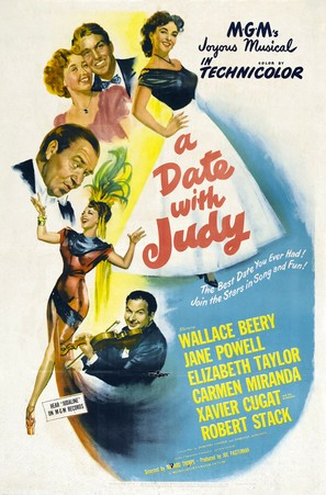 A Date with Judy - Movie Poster (thumbnail)
