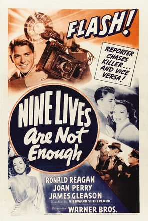 Nine Lives Are Not Enough - Movie Poster (thumbnail)