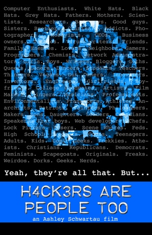 Hackers Are People Too - Movie Poster (thumbnail)