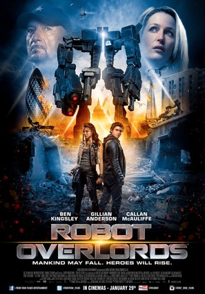 Robot Overlords - Lebanese Movie Poster (thumbnail)