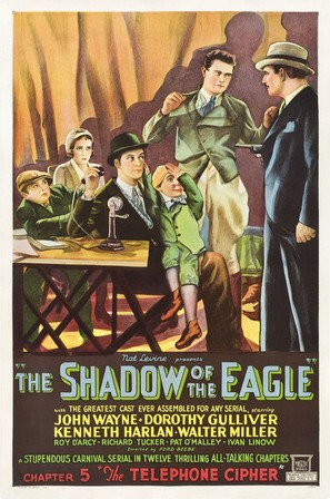 The Shadow of the Eagle - Movie Poster (thumbnail)