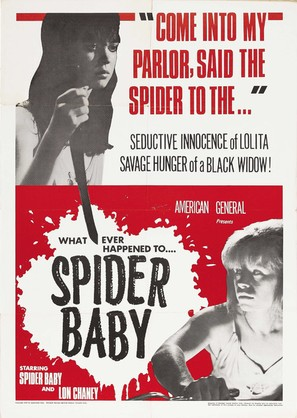 Spider Baby or, The Maddest Story Ever Told - Movie Poster (thumbnail)