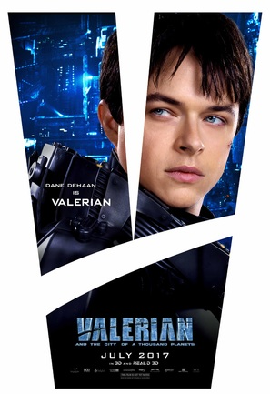 Valerian and the City of a Thousand Planets - Movie Poster (thumbnail)