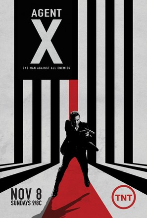 """Agent X"" - Movie Poster (thumbnail)"