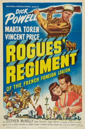 Rogues' Regiment - Movie Poster (thumbnail)