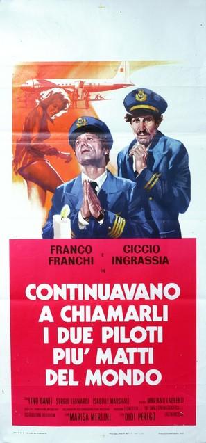 I due maggiolini più matti del mondo - Italian Movie Poster (thumbnail)