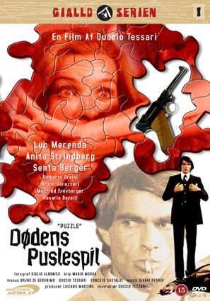 L'uomo senza memoria - Danish DVD movie cover (thumbnail)