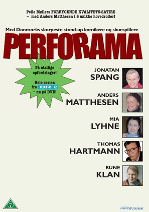 """Perforama"" - Danish Movie Poster (thumbnail)"