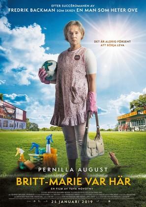 Britt-Marie var här - Swedish Movie Poster (thumbnail)