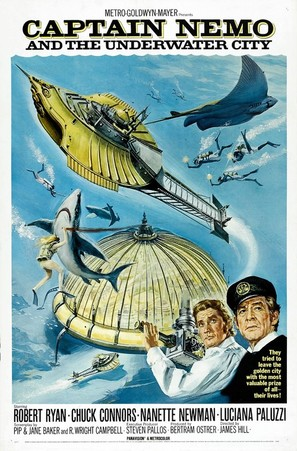 Captain Nemo and the Underwater City - Movie Poster (thumbnail)
